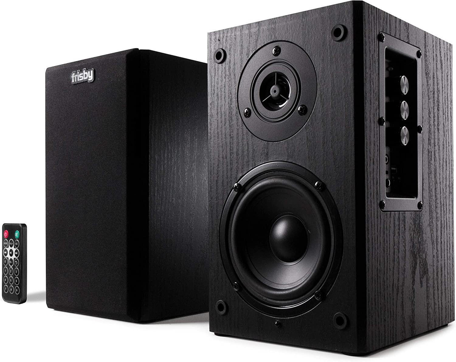 Frisby FS-2000BT Powered Bookshelf Speakers St Stereo Active Classic 2.0 Sales for sale