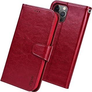 Migeec Funda para iPhone 12 Pro MAX Funda con Tapa Tipo Billetera de 6,7 Pulgadas con Soporte para Tarjeta de crédito y Bo...