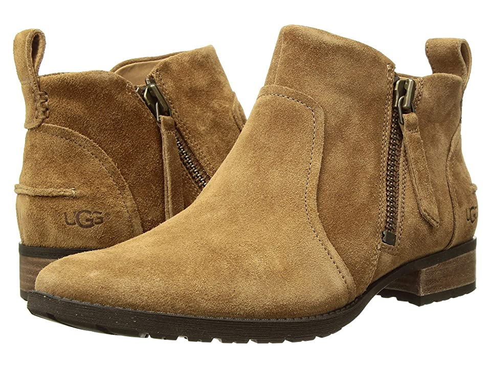 UGG Aureo Boot (Chestnut Suede) Women