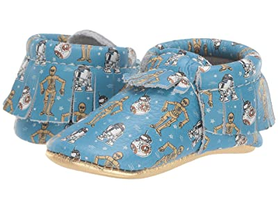 Freshly Picked Star Wars Droids Moccasin (Infant/Toddler) (Blue/Gold/Multi) Kid