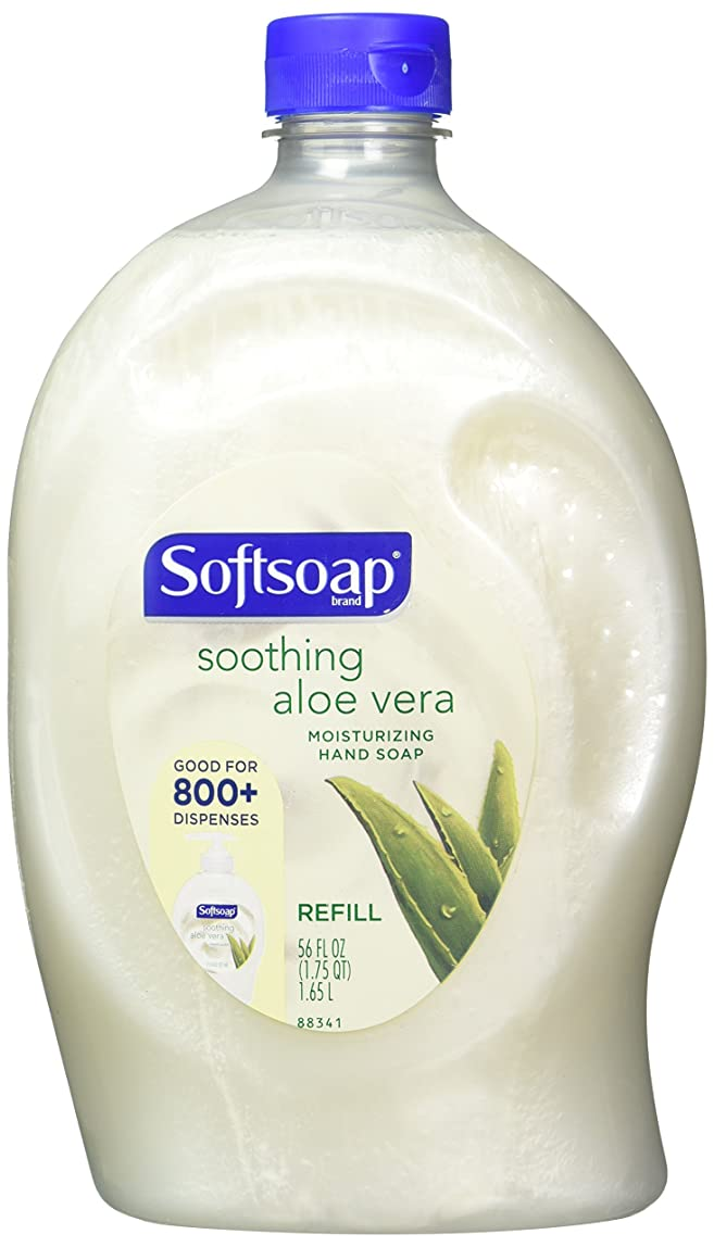 建てる不屈争いSoftsoap液体Moisturizing Hand Soap Refill 56 fl oz, 2 Count ACP-2685