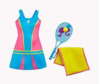 Mattel Barbie zawodowa soutfit tenisista