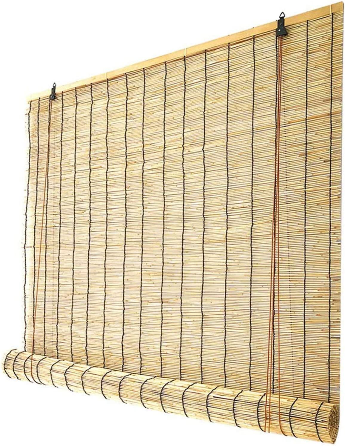DBXOKK Natural Reed Curtain Roller Blinds Bamboo Brand new C Shades Tucson Mall