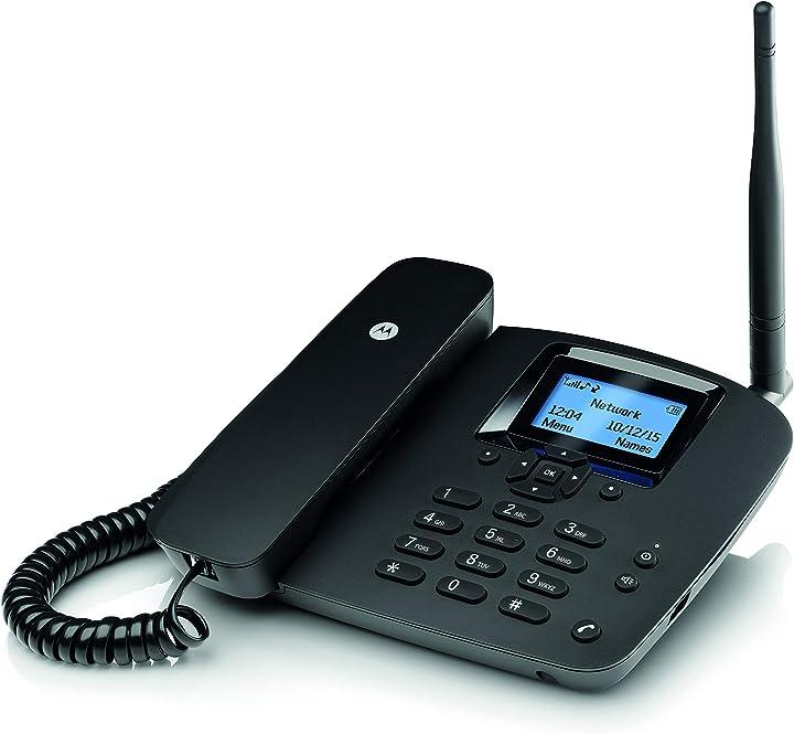 Telefono fisso con sim motorola fw200l MOTOFW200L