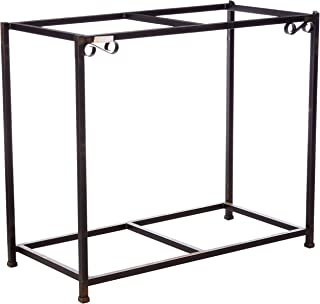 Caitec Bird Toys TitanEzeDouble Aquarium Stand, Two Stands in One, Upper & Lower Levels, Birds, Fish, Small Animals, 30 Gallons, 38-1/2