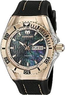 [テクノマリーン]TechnoMarine 腕時計 Cruise Monogram Analog Display Swiss Quartz Black Watch TM-115214 メンズ [並行輸入品]