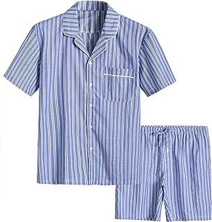 ست لباس خواب کوتاه و نخی مردانه Latuza ست لباس خواب کوتاه