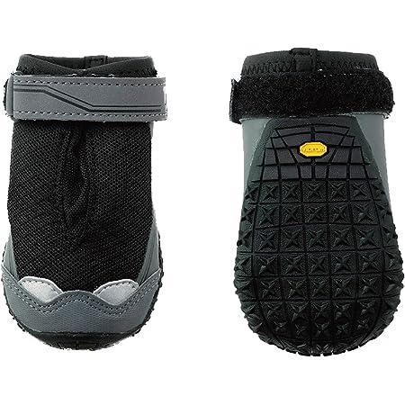 犬用靴 Grip Trex (グリップトレックス) XXS-L オブシディアンブラック 2個入り
