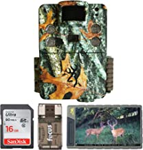 Browning Trail Cameras Strike Force Pro X 20MP IR Game Cam with Image and Video Viewer, 2 Memory Cards and Focus Card Reader