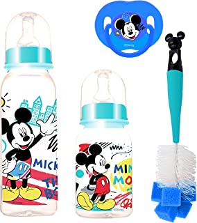 Disney - Baby Feeding 4 Pcs Gift Pack, 0+ Months - Mickey Mouse
