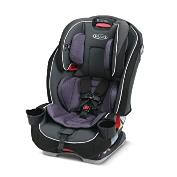 Graco SlimFit 3 in 1 Car Seat, Slim & Comfy Design Saves Space in Your Back Seat, Annabelle: image