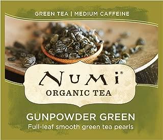 Numi Organic Tea Gunpowder Green, 100 Count Box of Tea Bags (Packaging May Vary)