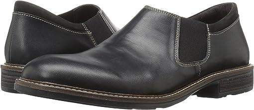 Black Raven Leather/Black Velvet Nubuck