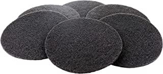 Compost Bin Filters - 6 Pack of 6.25 Inch Round Carbon Replacement Filter for Kitchen Pail