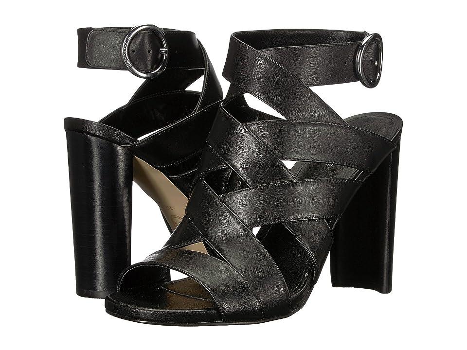 MICHAEL Michael Kors Alana Sandal (Black Vachetta) High Heels