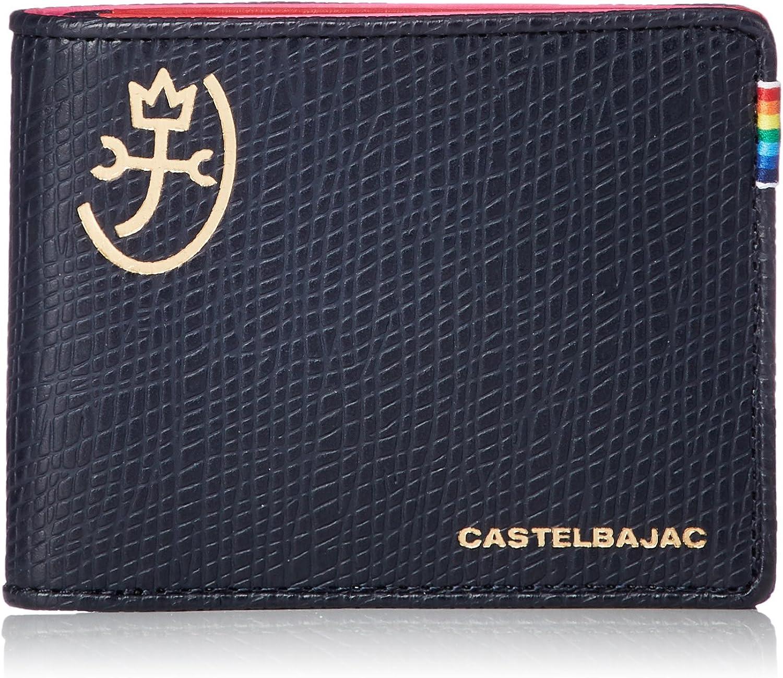 CASTELBAJAC Castelbajac 79613, Herren-Geldbörse Schwarz Schwarz B079BLYD3H