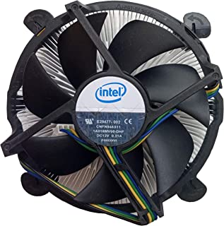 "Intel E29477-002 Socket 1366 Copper Core/Aluminum Heat Sink & 4"" Fan w/4-pin Connector up to Core i7 3.06GHz"
