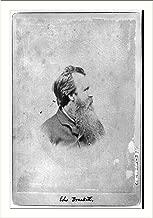 Historic Print (L): Edward Brackett [sculptor] made a cast of John Brown's fe...