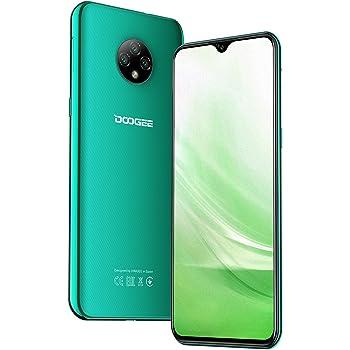 Teléfono Móvil Libres, DOOGEE X95 Android 10 Smartphone Libre 4G, Pantalla 6,52 Pulgadas, 4350mAh Batería, Smartphone Barato Dual SIM, Triple Cámara 13MP+5MP, 16GB ROM, 128GB SD, Face ID - Verde