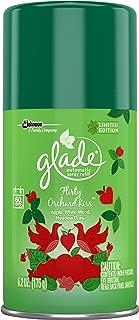 Glade Automatic Spray Air Freshener Refill, Flirty Orchard Kiss , 6.2 oz