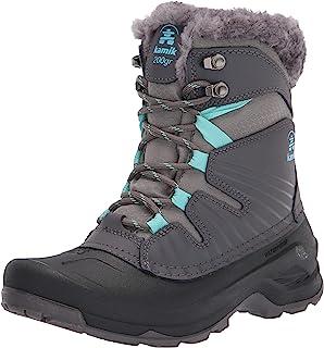 Kamik Women's Snow Boot, Charcoal, 9