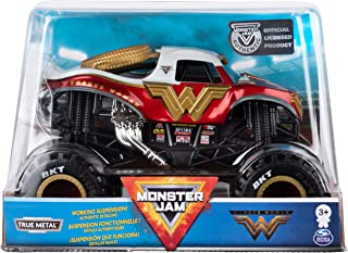 Monster Jam Official Wonder Woman Monster Truck Die-Cast Vehicle, 1:24 Scale