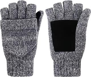 merino wool convertible mittens