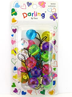 Darling By Tara Twinbead Bubble Ponytail Holders - 12 Pcs.