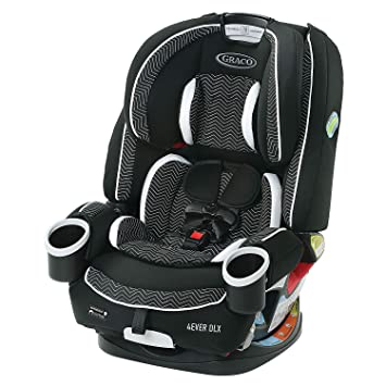 Graco 4Ever DLX 4 in 1 Car Seat, Infant to Toddler Car Seat, with 10 Years of Use, Zagg: image