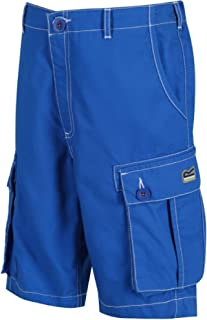 Regatta Childrens/Kids Shorefire Coolweave Cotton Canvas Shorts