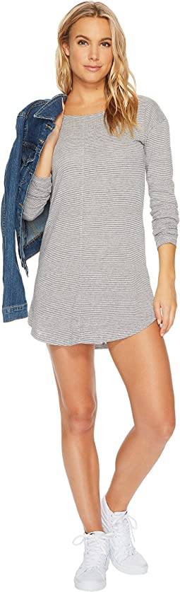 Premium Surf Stripe Long Sleeve Dress