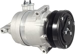 AUTEX AC Compressor and A/C Clutch CO 22234C Replacement for Chevrolet Aveo 1.6L 2009-2017/Aveo5 1.6L 2009-2011 Compatible with Pontiac G3 2007-2010 1.6L/Pontiac G3 Wave 1.6L 2009