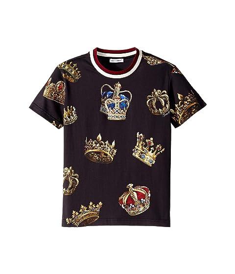 Dolce & Gabbana Kids D&G Kings T-Shirt (Little Kids)