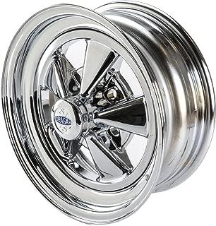 Cragar CRR-61615: Wheel, Super Sport, Steel, Chrome, 15 in. x 6 in., 5 x 4.5/4.75/5 in. Bolt Circle, 3.375 in. Backspace, Each