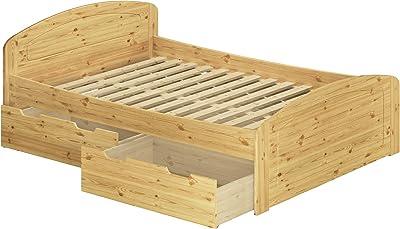 Parisot 1531lico Bett – Space UP Eiche Baltimore/weiß Holz