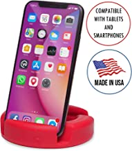 GoDonut Original Universal Smartphone and Tablet Stand, Compatible with Android iPad iPhone Samsung Galaxy LG Pixel | Multi-Angled to View on Tablet Kindle Fire Smartphone XS Max XR 8+ 8 7+ 7 6 5