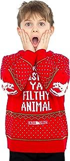 Children Home Alone Merry Christmas Ya Filthy Animal Ugly Christmas Sweater