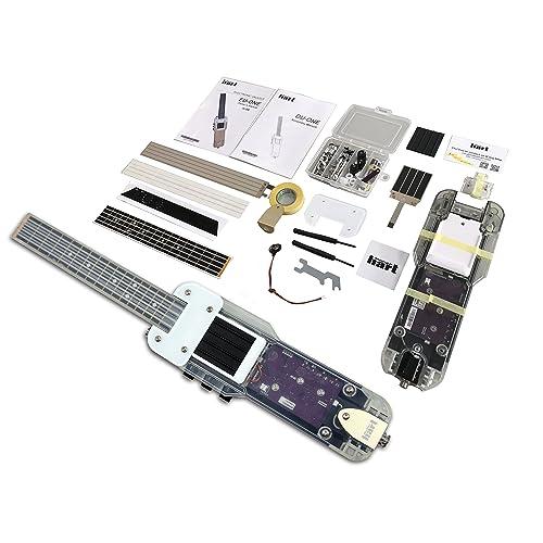 DU-ONE Electronic DIY Ukulele - USB MIDI Electric Guitar Controller with Multiple Tones &