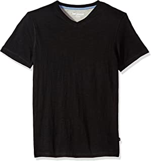 LEE Men's V-Neck T-Shirt   Short Sleeve, Casual, Soft Breathable Cotton, Tagless Undershirt   Regular Fit, Big and Tall