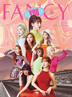 JYP Twice - Fancy You [Random ver.] (7th Mini Album) CD+Photobook+5 Photocards+Sticker+ Folded Poster+Extra Photocard
