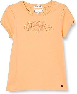 Tommy Hilfiger Tonal Embro Graphic tee S/S Camiseta para Niñas