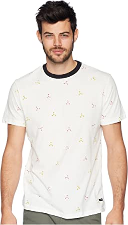 RVCA Middle Print Short Sleeve
