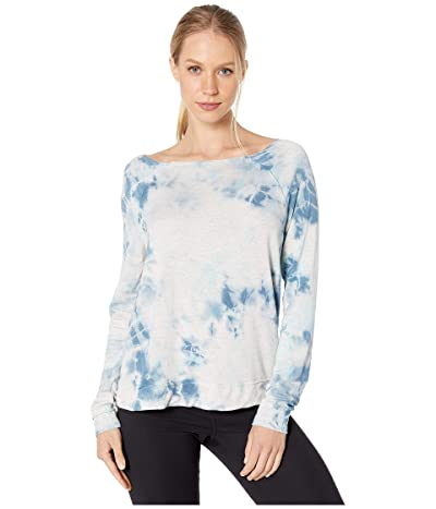 SUNDoWN by River+Sky Live In Lounge Sweatshirt (Bluebell) Women