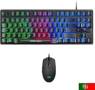 Amazon.es: teclado gaming - Packs de teclado y ratón / Teclados, ratones y periféricos de e...: Informática