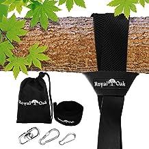 EASY HANG (4FT) TREE SWING STRAP X1 – Holds 2200lbs. – Heavy Duty Carabiner..