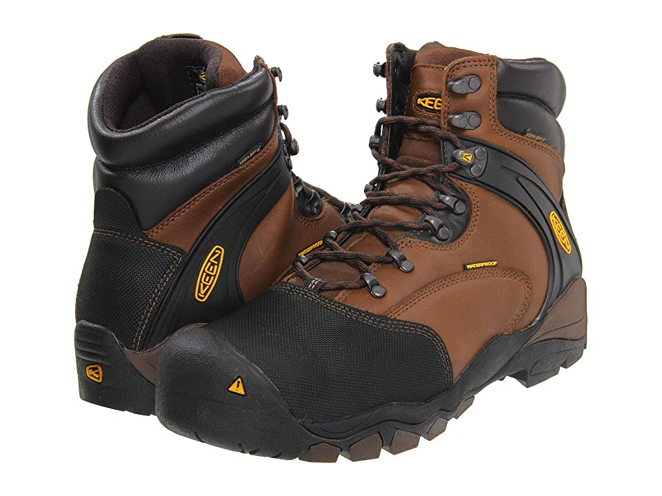 Keen Utility Louisville 6 Steel Toe (Slate Black) Men