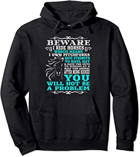 funny horse quotes hoodies