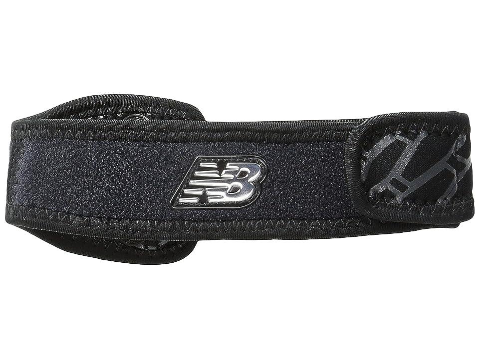 New Balance Adjustable IT Band Strap (Black) Athletic Sports Equipment