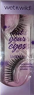 Wet N Wild (1) Pack Bat Your Eyes Lashes - Flutter-Worthy Natural Looking False Eyelashes - Black 1 Pair per Pack