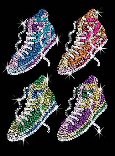 de moda KSG Street Feet Sequin Sequin Sequin Art by KSG  alto descuento